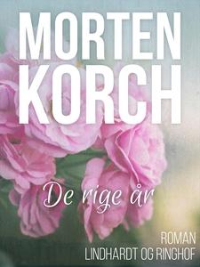 De rige år (e-bog) af Morten Korch