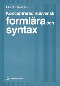 Koncentrerad nusvensk formlära och syntax (e-bo