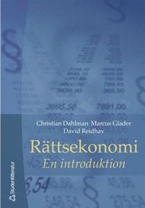 Rättsekonomi (e-bok) av Christian Dahlman, Davi