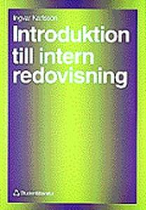 Introduktion till intern redovisning (e-bok) av
