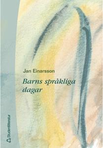 Barns språkliga dagar (e-bok) av Jan Einarsson