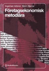 Företagsekonomisk metodlära (e-bok) av Björn Bj