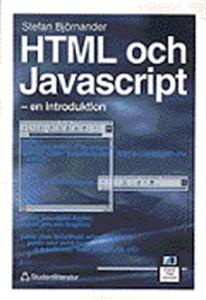 HTML och Javascript: en introduktion (e-bok) av