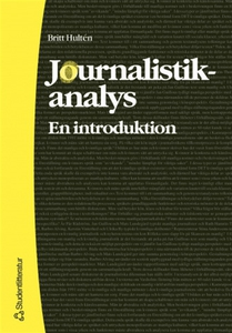Journalistikanalys: en introduktion (e-bok) av