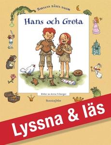 Hans och Greta (e-bok) av Bröderna Grimm