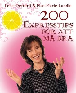 200 expresstips för att må bra (e-bok) av Else-