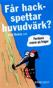 Får hackspettar huvudvärk? (e-bok) av Paul Hein