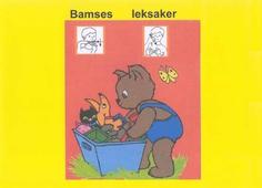 Bamses leksaker - Barnbok med tecken för hörande barn