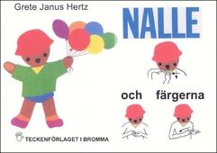 NALLE och färgerna - Barnbok med tecken för hörande barn
