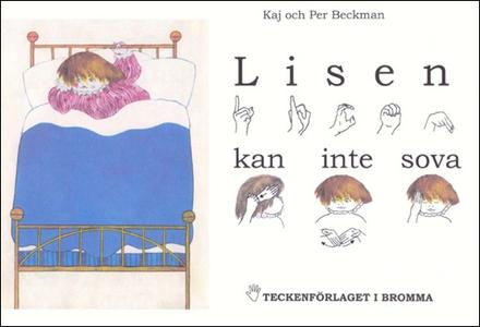Lisen kan inte sova - Barnbok med tecken för hö