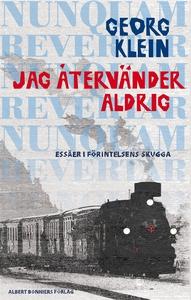 Jag återvänder aldrig (e-bok) av Georg Klein