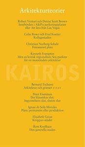 Arkitekturteorier (e-bok) av Skriftserien Kairo