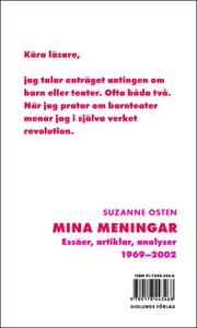 Mina meningar - Essäer, artiklar, analyser 1969