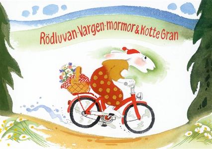 Rödluvan, vargen, mormor och Kotte Gran (bild-e