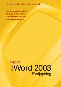 Microsoft Word 2003 Fördjupning (e-bok) av Eva