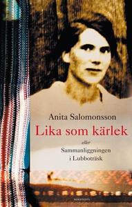 Lika som kärlek (e-bok) av Anita Salomonsson