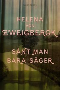 Sånt man bara säger (e-bok) av Helena von Zweig