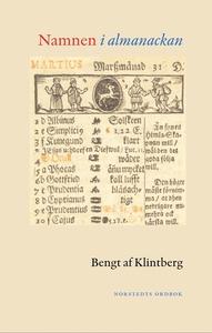Namnen i almanackan (e-bok) av Bengt af Klintbe