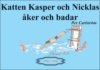 Katten Kasper och Nicklas åker och badar (e-bok