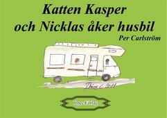 Katten Kasper och Nicklas åker husbil