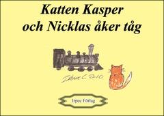 Katten Kasper och Nicklas åker tåg