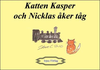 Katten Kasper och Nicklas åker tåg (e-bok) av P