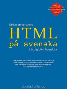 HTML på svenska - lär dig göra hemsidor (e-bok)