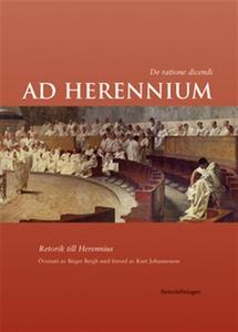 Ad Herennium (e-bok) av övs. Birger Bergh