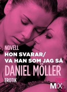 Hon svarar ; Va han som jag så : två noveller (