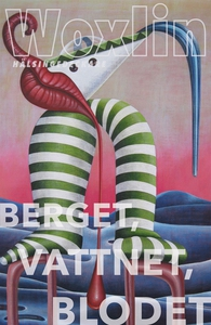 Berget, Vattnet, Blodet (e-bok) av Leif Woxlin