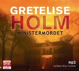 Ministermordet (ljudbok) av Gretelise Holm