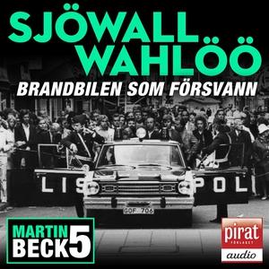 Brandbilen som försvann (ljudbok) av Maj Sjöwal
