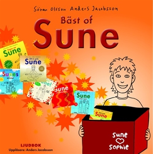 Bäst of Sune (ljudbok) av Anders Jacobsson