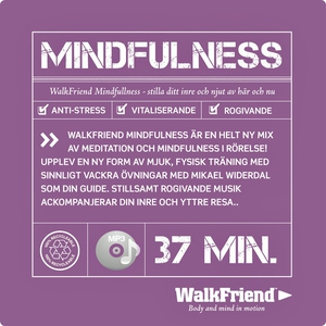 WalkFriend Mindfulness (ljudbok) av Mikael Wide