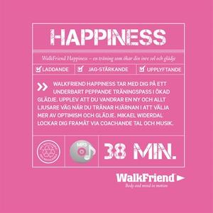 WalkFriend Happiness (ljudbok) av Mikael Widerd