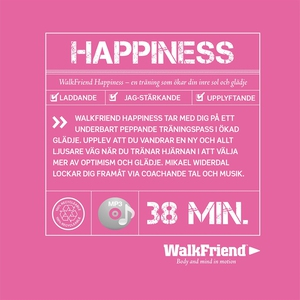 WalkFriend Happiness (ljudbok) av Mikael Widerd