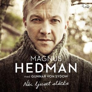 När ljuset släcks (ljudbok) av Magnus Hedman, G
