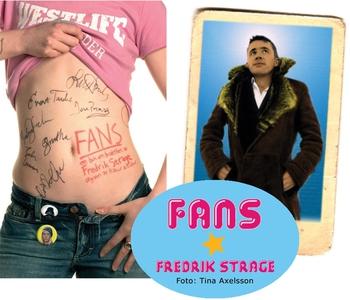 Fans (ljudbok) av Fredrik Strage