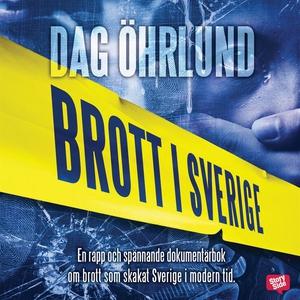 Brott i Sverige (ljudbok) av Dag Öhrlund