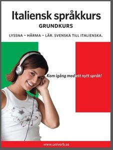 Italiensk språkkurs grundkurs (ljudbok) av Univ