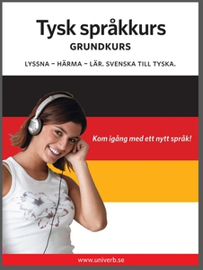 Tysk språkkurs grundkurs (ljudbok) av  Univerb,