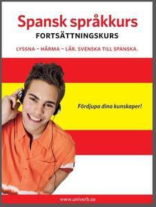 Spansk språkkurs fortsättningskurs (ljudbok) av