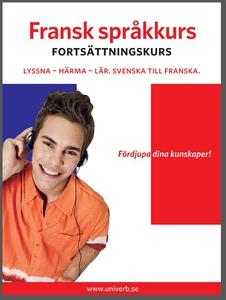 Fransk språkkurs fortsättningskurs (ljudbok) av