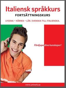 Italiensk språkkurs fortsättningskurs (ljudbok)