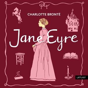 Jane Eyre / Lättläst (ljudbok) av Charlotte Bro