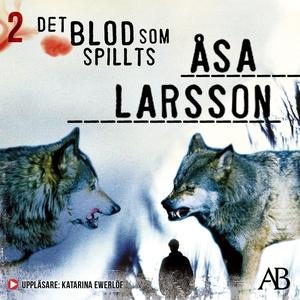 Det blod som spillts (ljudbok) av Åsa Larsson