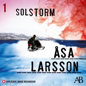Solstorm (ljudbok) av Åsa Larsson