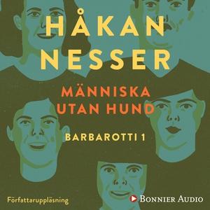 Människa utan hund (ljudbok) av Håkan Nesser