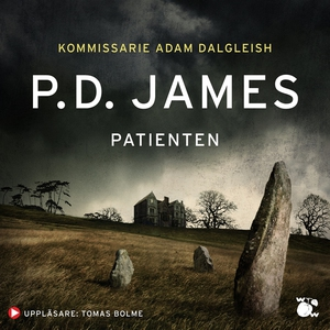 Patienten (ljudbok) av P.D. James, P D
