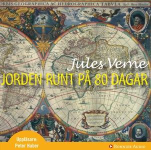 Jorden runt på 80 dagar (ljudbok) av Jules Vern